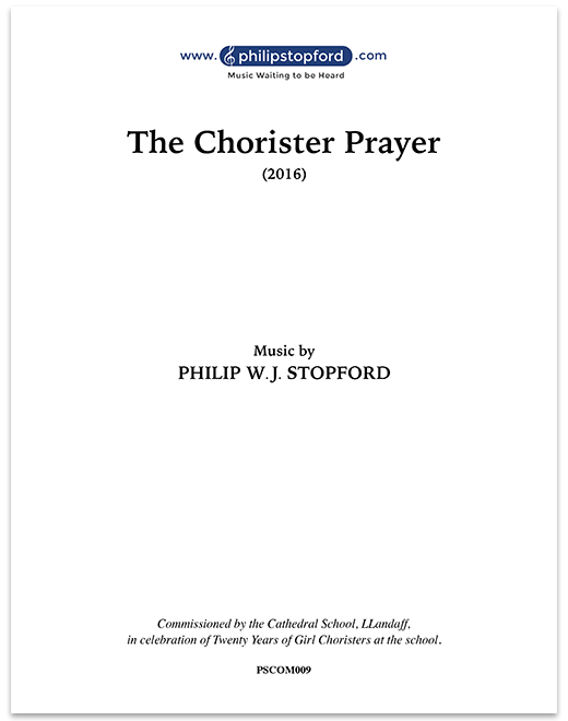 The Chorister Prayer