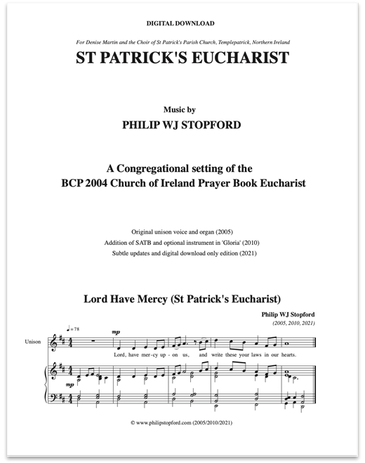 St Patrick\'s Eucharist