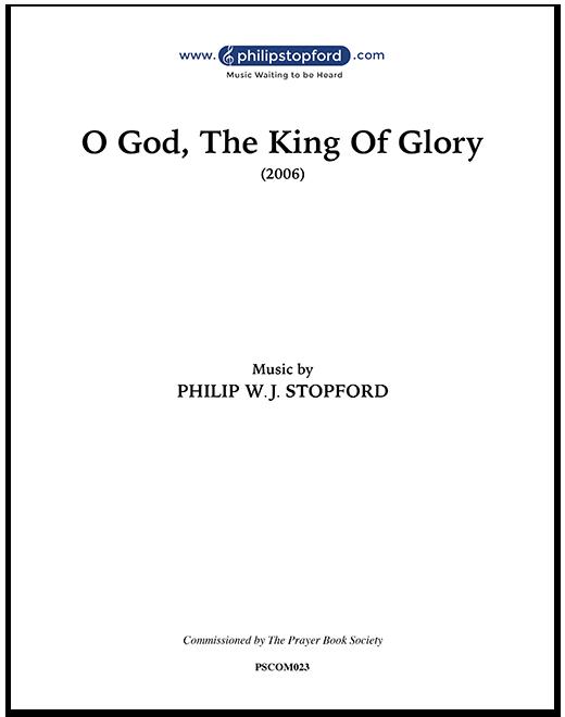 O God the King of Glory