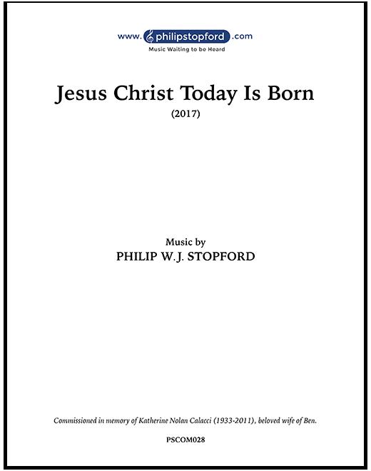 Jesus Christ Today Is Born