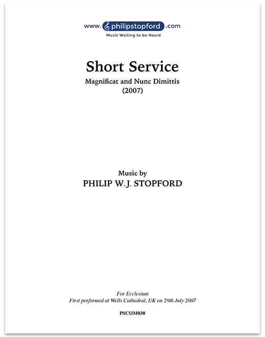 Magnificat and Nunc Dimittis – Short Service