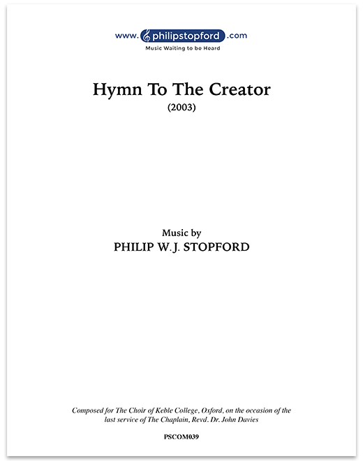 Hymn to the Creator
