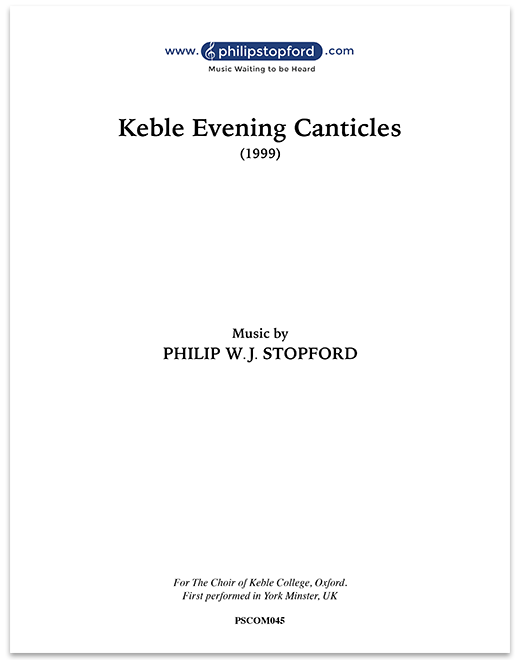 Magnificat and Nunc Dimittis - Keble Evening Canticles