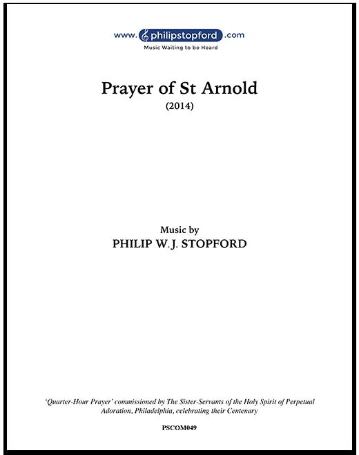 Prayer of St Arnold