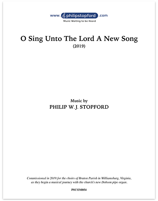 O Sing Unto The Lord A New Song